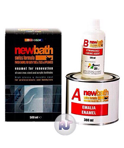 newbath-bath-sink-shower-tiles-resurfacing-enamel-white-water-resistant-2k-paint-500ml