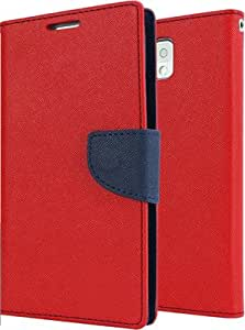 Duronz Flip Cover for HTC Desire 816 (Red)