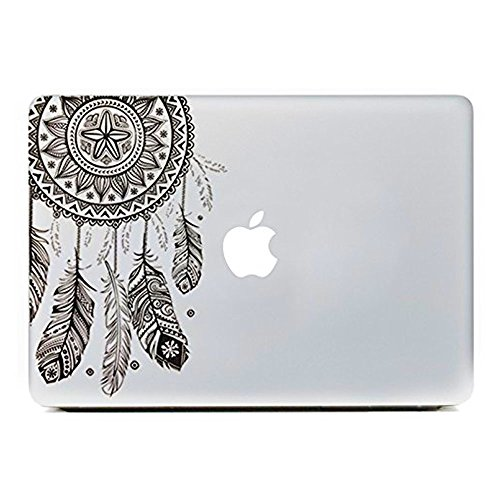Big Save! Easy Gift® Dream Catcher Decal Removable Vinyl Macbook Decal Sticker Decals Skin with Precision-cut for Apple Macbook Air Macbook Pro Mac Laptop13 Inch