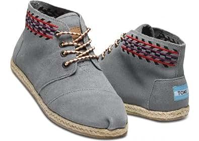 Amazon.com: TOMS Women's Desert Botas Boot Grey Alarco Size 9.5 B(M
