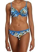 AMATI 21 Bikini 208-21 1Blm (Vinca / Multicolor)