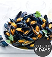 Rope Grown Mussels in Garlic & Shallot Sauce