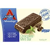 Atkins 60g Advantage Choc Mint Bar - box pack of 16