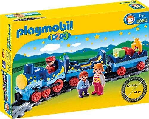 PLAYMOBIL 123 Sternchenbahn - Zug mit Schienenkreis
