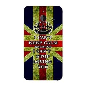 Skin4gadgets I CAN'T KEEP CALM BECAUSE I Cant Stop Lovin You - Colour - UK Flag Phone Skin for MICROSOFT LUMIA 640 XL
