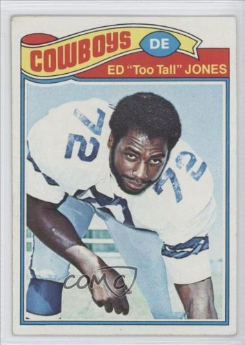 Ed Too Tall Jones Ed Jones, Dallas Cowboys (Football Card) 1977 Topps #314 at Amazon.com