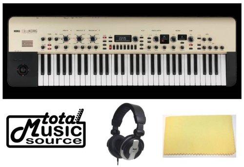 Korg Kingkorg Full-Fledged Analog Modeling Synthesizer Kit With Headphones & Tms Polishing Cloth Kingkorg
