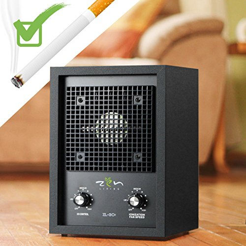 NEW LIVING ALPINE AIR PURIFIER IONIZER OZONE GENERATOR SMOKE ODOR REMOVER (Mite Remover compare prices)