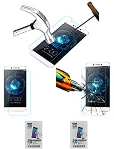 Acm Pack Of 2 Tempered Glass Screenguard For Leeco Letv Le Max 2 Mobile Screen Guard Scratch Protector