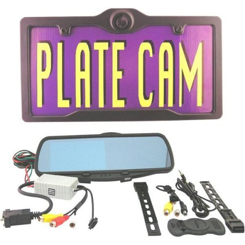 Complete License Plate Camera Kit with 4