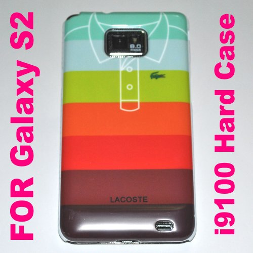 Lacoste Hard Back Case Cover for Samsung Galaxy S2 Case – C I9100