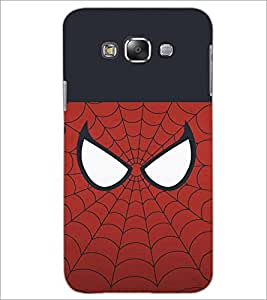 PrintDhaba SpiderMask D-4478 Back Case Cover for SAMSUNG GALAXY GRAND 3 (Multi-Coloured)
