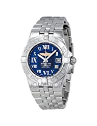 Breitling Women's A71340L2/C778SS Galactic 30 Blue Dial Watch