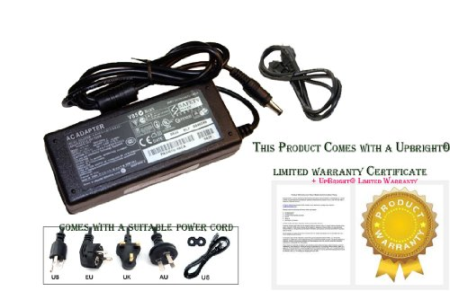 Upbright® Ac Adapter For Lg 24Ma31D 24Ma31D-Pu 24Ma31D-Pun.Auscxpm 26Ma31D Led Lcd Tv Power Supply Charger Psu
