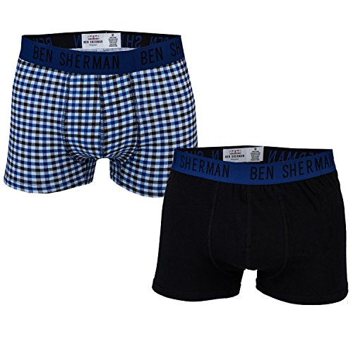 mens-ben-sherman-mens-2-pack-james-trunk-in-black-blue-m