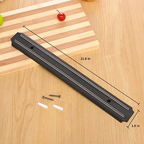 ouddy 22 inch magnetic knife bar magnetic knife storage magnetic strips for kitchen knives knife storage