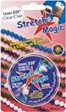 Pepperell 1mm Stretch Magic Bead and Jewelry Cord, 5m, Clear