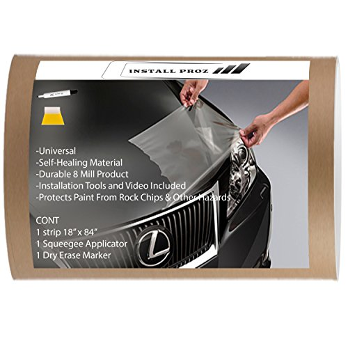 "Self Healing Universal Clear Paint Protection Bra Hood And Fender Kit (18"" x 84"")"
