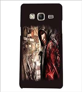 PrintDhaba Devil D-2220 Back Case Cover for SAMSUNG Z3 (Multi-Coloured)