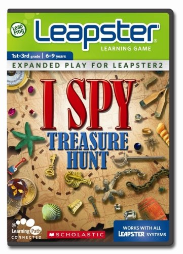 LeapFrog Leapster Learning Game Scholastic ISPY Treasure Hunt