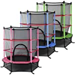 Popamazing Trampoline With Safety Net...
