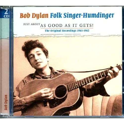 Folk-Singer-Humdinger-1961-1962-Bob-Dylan-Audio-CD