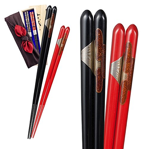 Wakasa chopsticks Wajima couple Hashinishiki Fuji...
