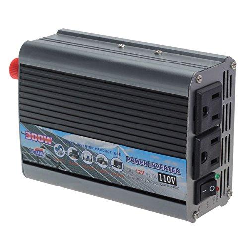 300W Car 12V To 110V Power Inverter Usb Port Car Power Converter