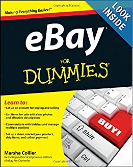 eBay For Dummies e-book downloads