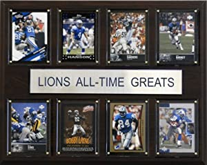 NFL Detroit Lions All-Time Greats Plaque by C&I Collectables