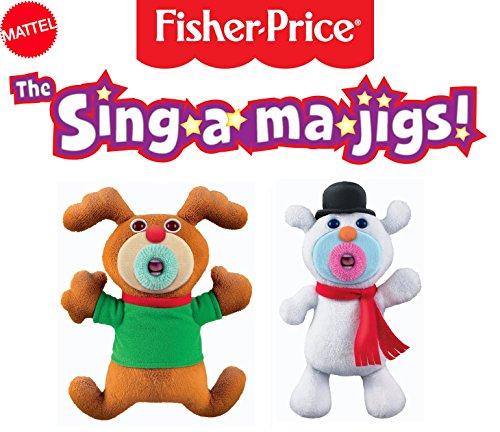 Mattel Sing-A-Ma-Jigs - mattel sing-a-ma-jigs duets green baby