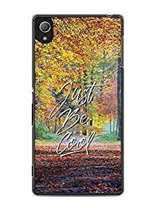 YuBingo Just Be Cool Designer Mobile Case Back Cover for Sony Xperia Z4