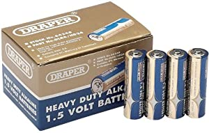 Draper 64248 AA Size Heavy Duty Alkaline Batteries (Trade Pack of 24)