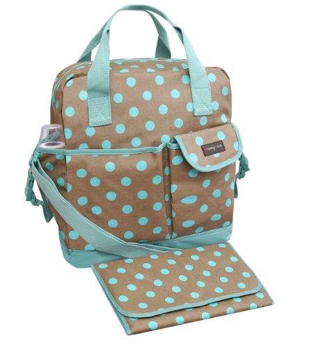 Momymoo Premium Zoe Baby Changing Bag (Polka Dots)