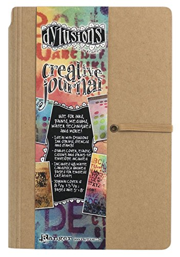 CRAFTERS WORKSHOP Dylusions Dyan Reaveleys Creative Journal, 5 by 8-Inch [+Peso($48.00 c/100gr)] (US.AZ.11.54-0-B00EB0G2HA.387)