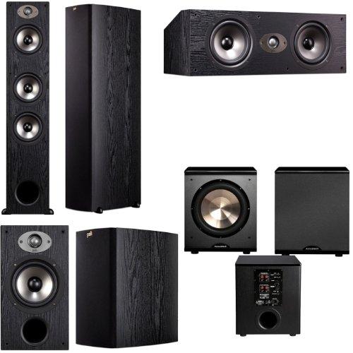 Polk Audio Tsx440T 5.1 Home Theater System (Black)