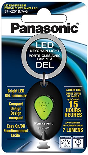 Panasonic Bf-Kz01Bag2S Panasonic Led Keychain Light, 2 Pack