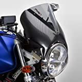 Fly screen Puig Vision carbon look/light smoke for MZ Skorpion Tour 660, Sachs Roadster 125/ 650/ 800