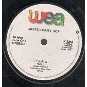 Pili Pili Jasper Van't Hof's Pili-Pili Hoomba-Hoomba