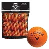 Callaway Soft Flight Balls with Hex Pattern (Pack of 9) - Orange