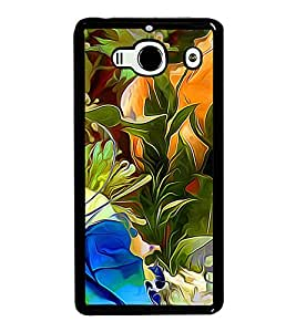 Colourful Flowers Pattern 2D Hard Polycarbonate Designer Back Case Cover for Xiaomi Redmi 2S :: Xiaomi Redmi 2 Prime :: Xiaomi Redmi 2