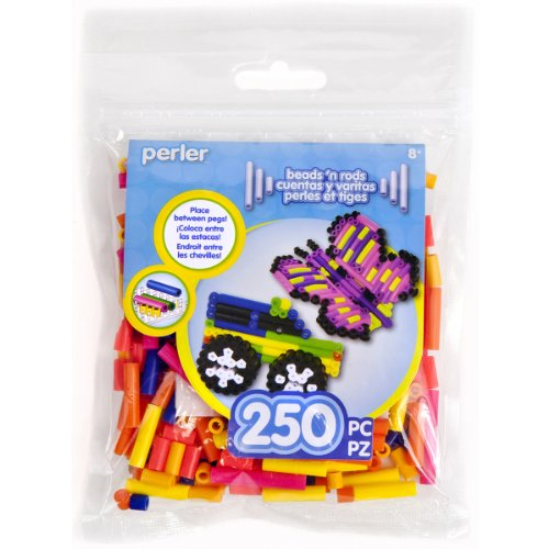 Perler Beads Rod Mix, Tropical - 1