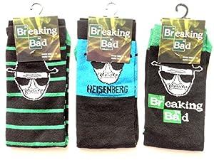Mens Socks Breaking Bad Walter White Blue Reisenberg