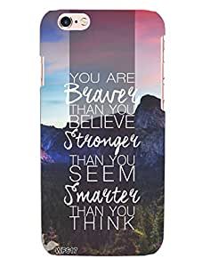 Beautiful Quotes Case for Apple iPhone 6+ / 6s+ from Wrap On!