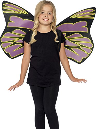 Glow In The Dark Flutter Wings - One Size