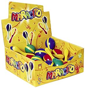 Maracito (Includes 1 Individual Maraca - Color May Vary)