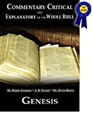 Commentary Critical and Explanatory - Book of Genesis (Annotated) (Commentary Critical and Explanatory on the Whole Bible)