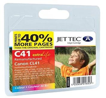 1 Cartouche d'encre pour Imprimante Canon Fax JX 500 - Multi-Color