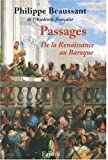Passages : De la Renaissance au Baroque (1CD audio)