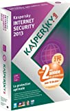 Kaspersky internet security 2013 (2 postes, 1 an) - dition spciale
